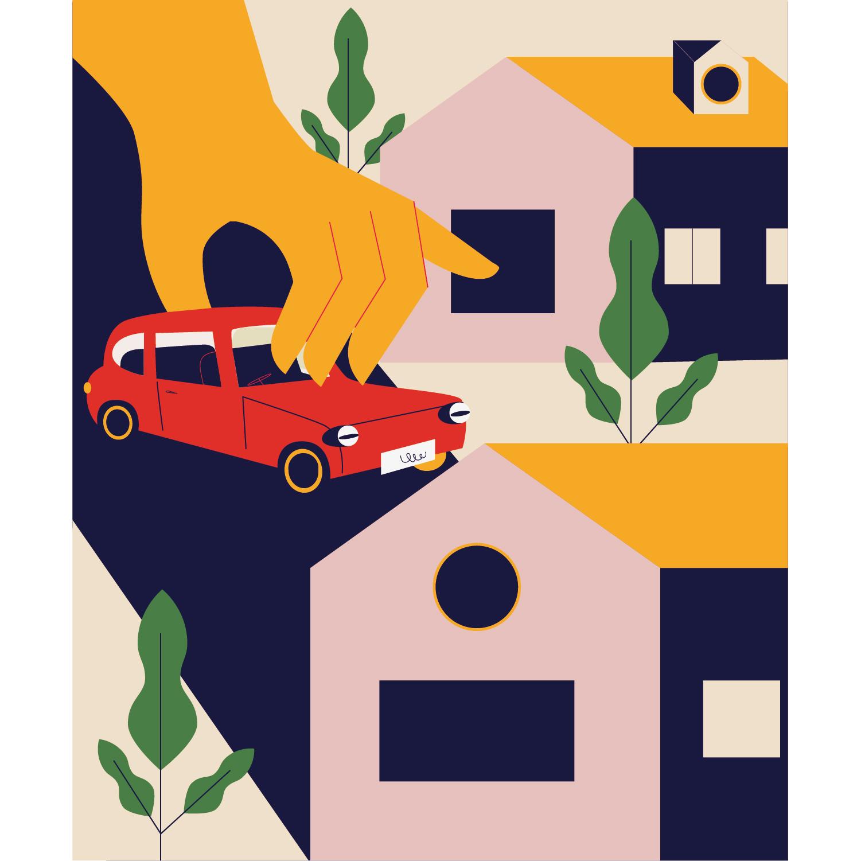Property Doctors Monika Jurczyk Monsie for The Telegraph editorial illustration