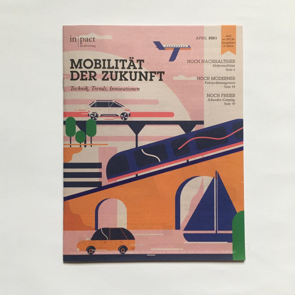 Mobilitat der zukunft Future mobilty cover